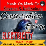 ONTARIO SCIENCE:GRADES 5/6 CONSERVATION OF ENERGY & ELECTR