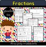 Grade 5 & 6 Fraction Unit