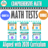 Grade 5/6 Ontario Math Tests BUNDLE   3 Versions for Each