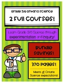 Grade 5/6 Science - Ontario - Full Split-grade Course (8 units)