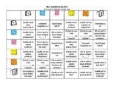 Grade 5-8 Core French Daily Questions Game