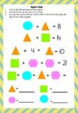 Grade 5, Algebra Puzzle