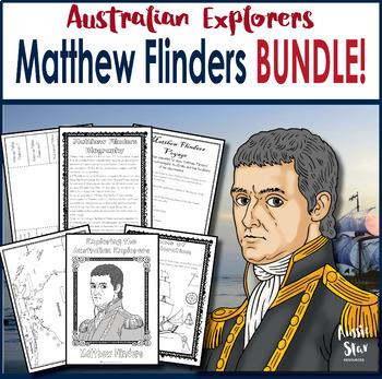 Australian Explorers - Matthew Flinders BUNDLE SAVE 45%