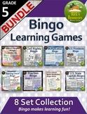 Bingo Games Grade 5