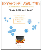 Grade 5, Bundle CCS: Geometry, Base 10, Algebra, M & Data