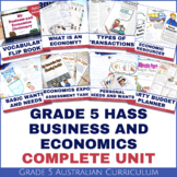 Grade 5 Business and Economics Complete Unit