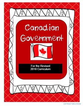 REVISED CURRICULUM Grade 5 Canadian Government Unit