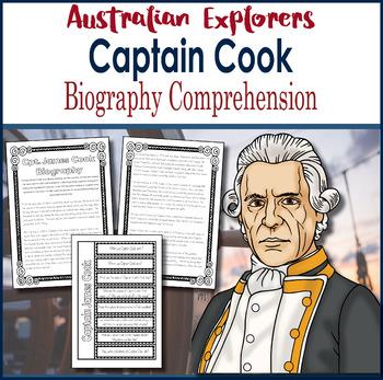 Australian Explorers - Captain James Cook - Biography Comp