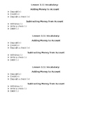 Grade 5 Chapter 3 Lesson 3.11 GoMath Vocabulary