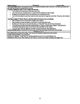 Grade 5 Classroom Chemistry Lesson Plans