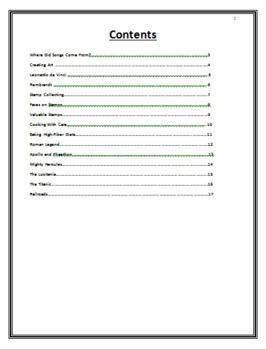 CLOZE ACTIVITY BOOKLET GRADE 5