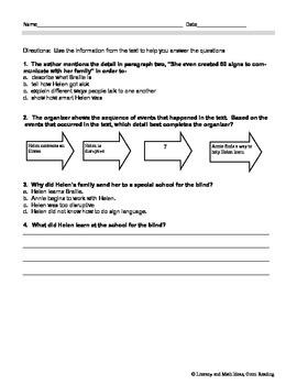 Grade 5 Common Core Assessments: Text Complexity RI.5.10