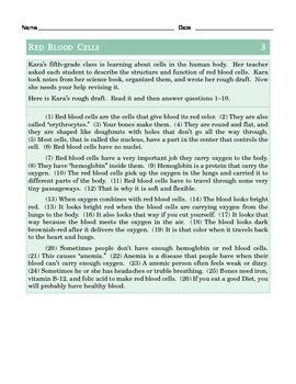 Grade 5 Common Core Language: Editing & Revising Practice #1