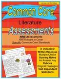 Grade 5 Common Core Literature Assessment Bundle