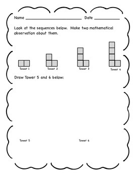 Grade 5 Common Core Math Algebra Practice