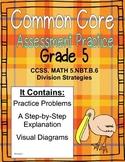 Grade 5 Common Core Math Assessment:  5.NBT.B.6