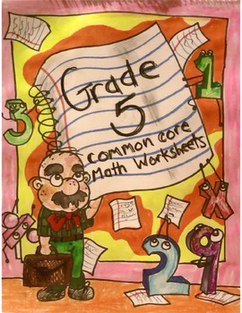 Grade 5 Common Core: Numbers and Operations- Fractions 2.4 Math Worksheet