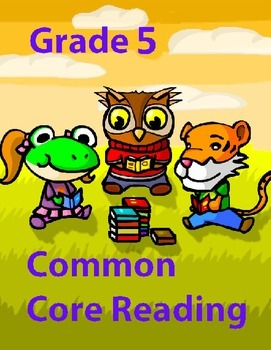 Grade 5 Common Core Reading: Informational Text about Fred