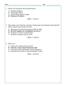 Grade 5 Common Core Reading: Informational Texts Bundle