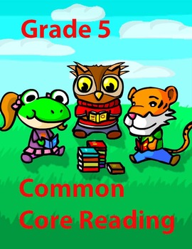 Grade 5 Common Core Reading: Into the Earth