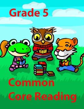 Grade 5 Common Core Reading: Literature Bundle #1