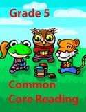Grade 5 Common Core Reading: Tide Pooling