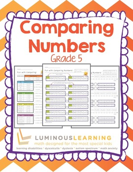 Grade 5 Comparing Numbers: Making Math Visual for Struggling Learners