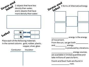 Science Review Grade 5 Comprehensive