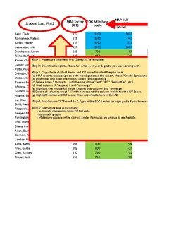 Grade 5 - Convert MAP RIT Score to a Lexile