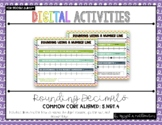 Grade 5 Digital Rounding Decimals Activities {5.NBT.4} For use w/ Google Slides™