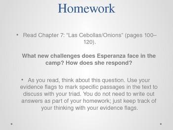 Grade 5 - ELA Esperanza Rising Module: Unit 2 Lesson 6