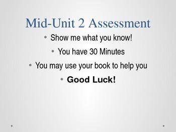 Grade 5 - ELA Esperanza Rising Module: Unit 2  MID Unit Assessment