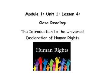 Grade 5 ELA Module 1, Unit 1, Lesson 4