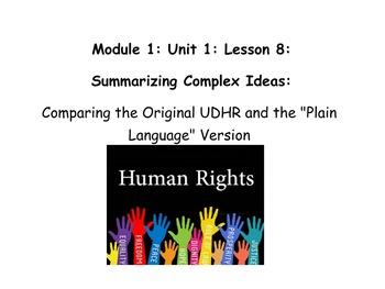 Grade 5 ELA Module 1, Unit 1, Lesson 8