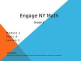 5th Grade Engage New York Math Module A Lesson 1
