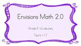 Grade 5 Envisions 2.0 Vocab Topic 1 (Full Set)