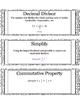 Grade 5 Math Module 4 Vocabulary Cards
