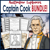 Australian Explorers - Captain Cook Complete Activity Pack