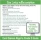 Grade 5 FREE Checklist of Math Goals for Common Core