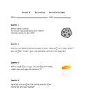 Grade 5 Fractions worksheet