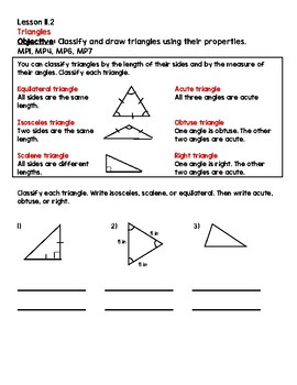 Grade 5 GO Math Chapter 11 Packet