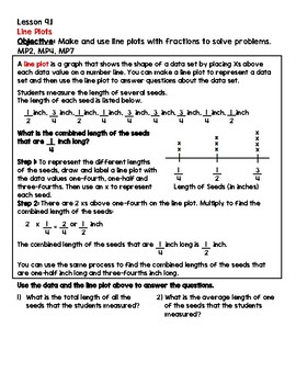 Grade 5 GO Math Chapter 9 Packet by Danielle Mottola | TpT