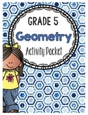 {Grade 5} Geometry Activity Packet