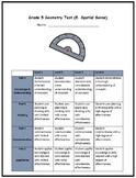 Grade 5 Geometry Assessment