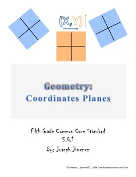 Grade 5 Geometry: Graphing on the Coordinate Plane