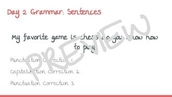 Grade 5 McGraw-Hill Wonders Grammar and Vocab Mini Lessons BUNDLE