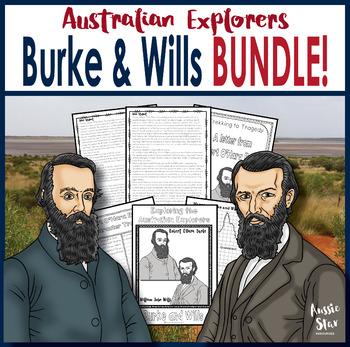 Australian Explorers– Burke and Wills – BUNDLE SAVE 44%