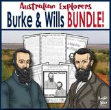 Australian Explorers– Burke and Wills – Complete Activity Pack