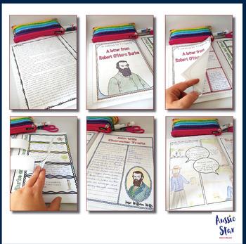 Australian Explorers– Burke and Wills – Comprehension Activity Pack