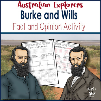 Grade 5 HASS – Australian Explorers– Burke and Wills – Fac